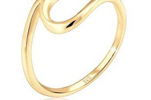 Elli Damen Ring mit Wellen Trendsymbol Strand Maritim in 925 310x205 - Elli Damen Ring mit Wellen Trendsymbol Strand Maritim in 925 Sterling Silber-Gold
