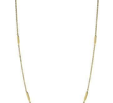 LIEBESKIND BERLIN Damen Halskette Edelstahl mattiert 95 cm 363x330 - LIEBESKIND BERLIN Damen-Halskette Edelstahl mattiert 95 cm