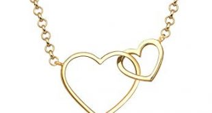 Elli Halskette Damen Herz Liebe in 925 Sterling Silber vergoldet 310x165 - Elli Halskette Damen Herz Liebe in 925 Sterling Silber vergoldet