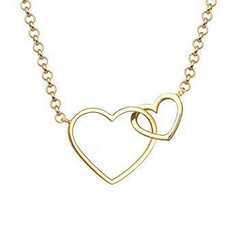 Elli Halskette Damen Herz Liebe in 925 Sterling Silber vergoldet 347x330 - Elli Halskette Damen Herz Liebe in 925 Sterling Silber vergoldet